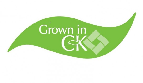 Grown in CK Logo - just CK